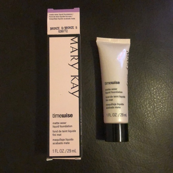 Mary Kay Other - Mary Kay Timewise Liquid Foundation Bronze 8